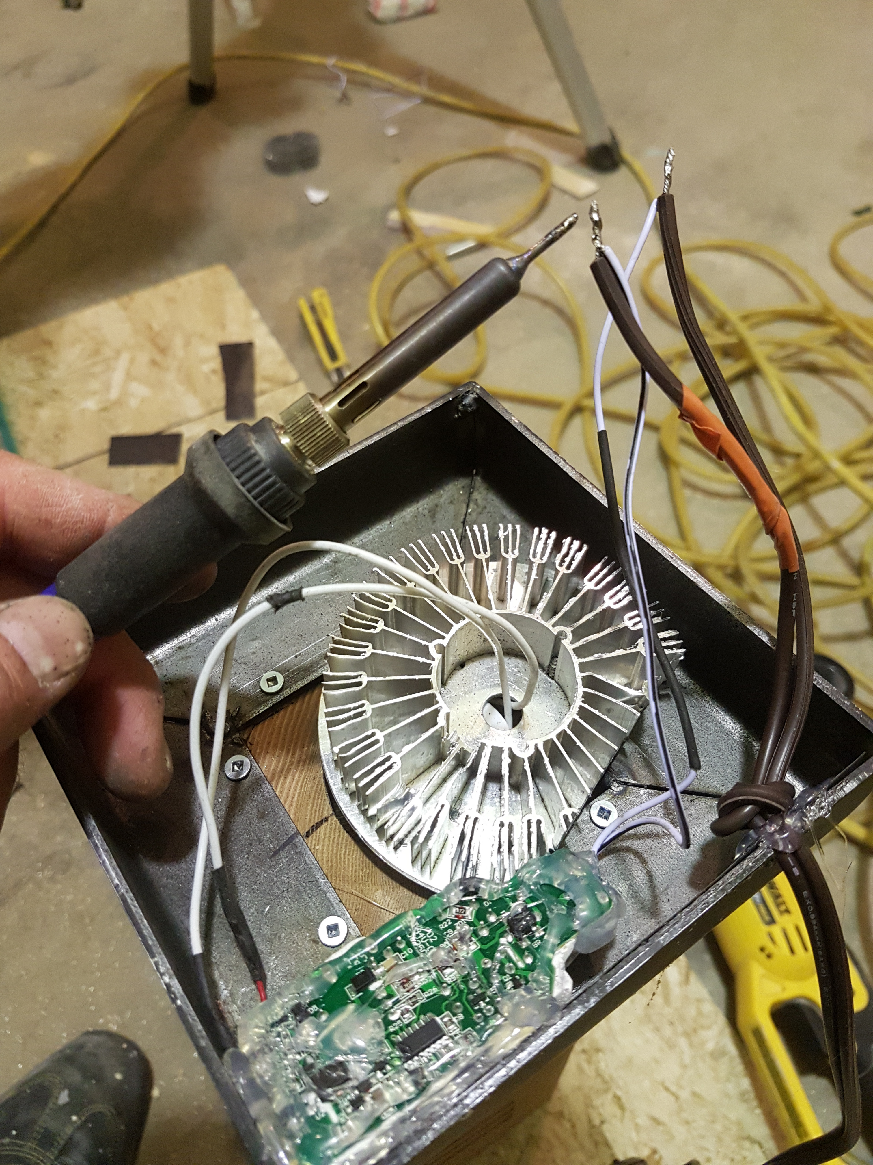 Picture of Attach the Base and Install the LED