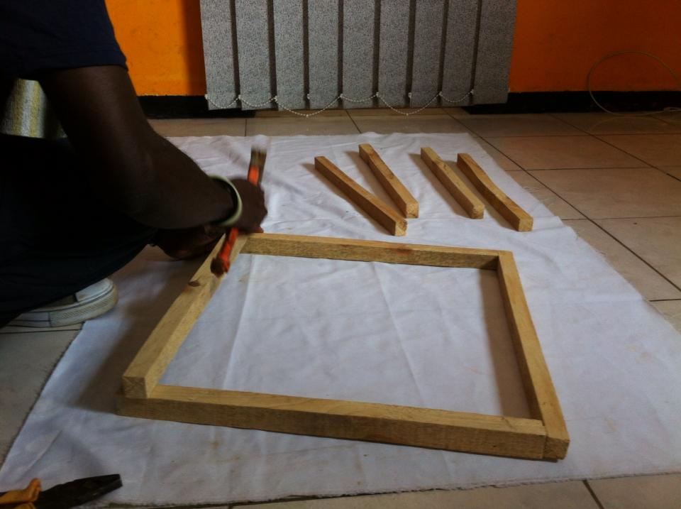 Picture of Building the Wooden Canvas