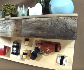 Secret Compartment Floating Shelf