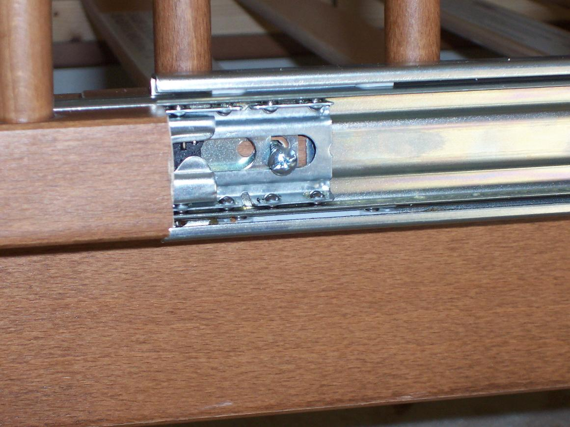 Picture of Secure the Fixed Railing