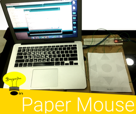 Arduino Based USB Paper Gesture Mouse
