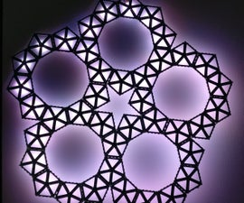 Pentagon LED Sculpture