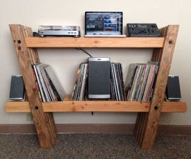 Record & Stereo Rack