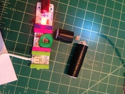 Make Narrow Field of View Light Trigger Sensor