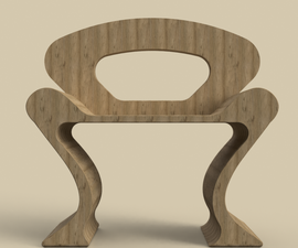 How to Make a Wooden Chair in 10 Mins Using Fusion 360?