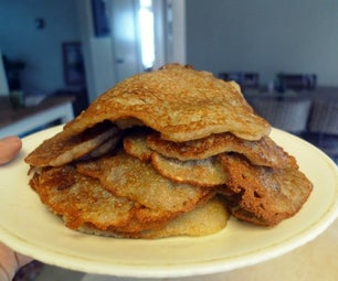 Lazy Latkes -- Quick Gluten-Free, Vegan Potato Pancakes