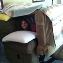 small pillow fort