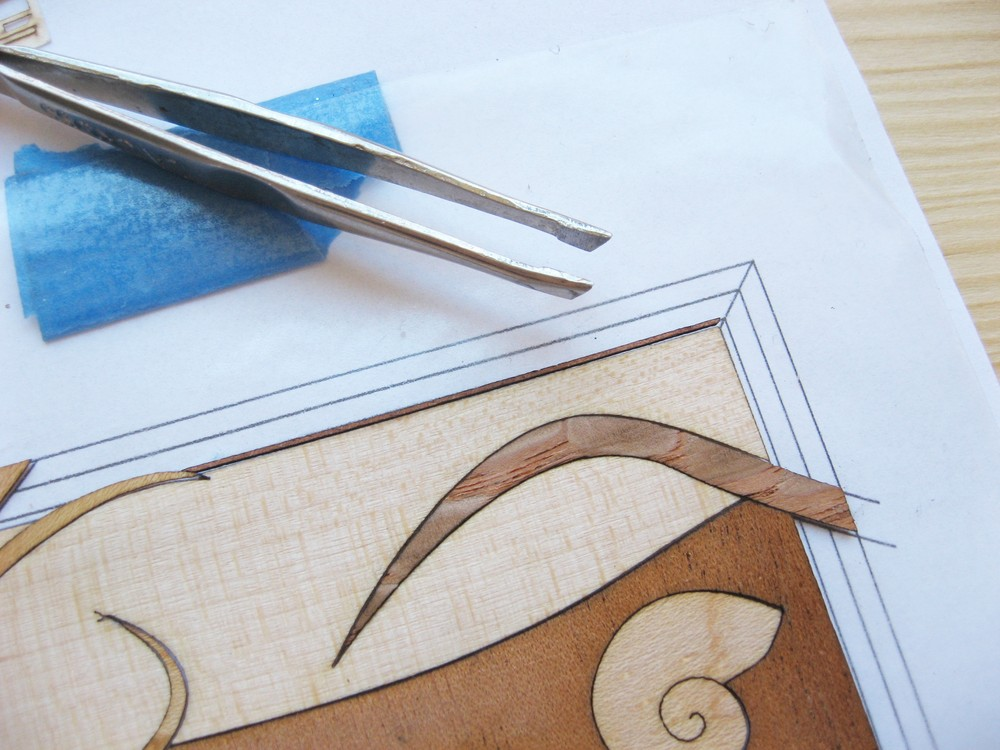 Picture of Cutting and Piecing