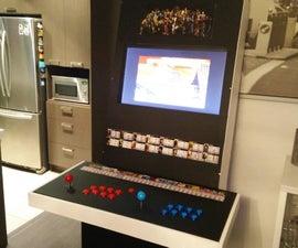 2-Player Vewlix Inspired Arcade Cabinet Using Raspberry Pi 2