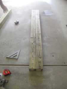 Cut Feet and Vertical Supports