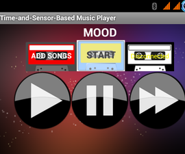 Arduino Time-and-Sensor-Based Android Music Player