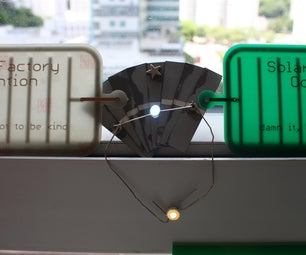 SPF DIY: the Fanned Light : a Solar Light From Scratch in 10 Minutes Flat