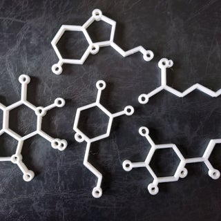Molecule Ornaments