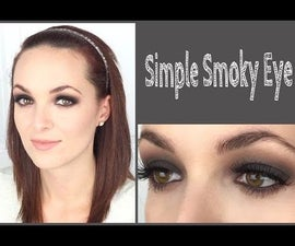 Simple Matte Smoky Eye