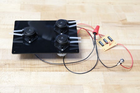 Wire the Motors and Relays
