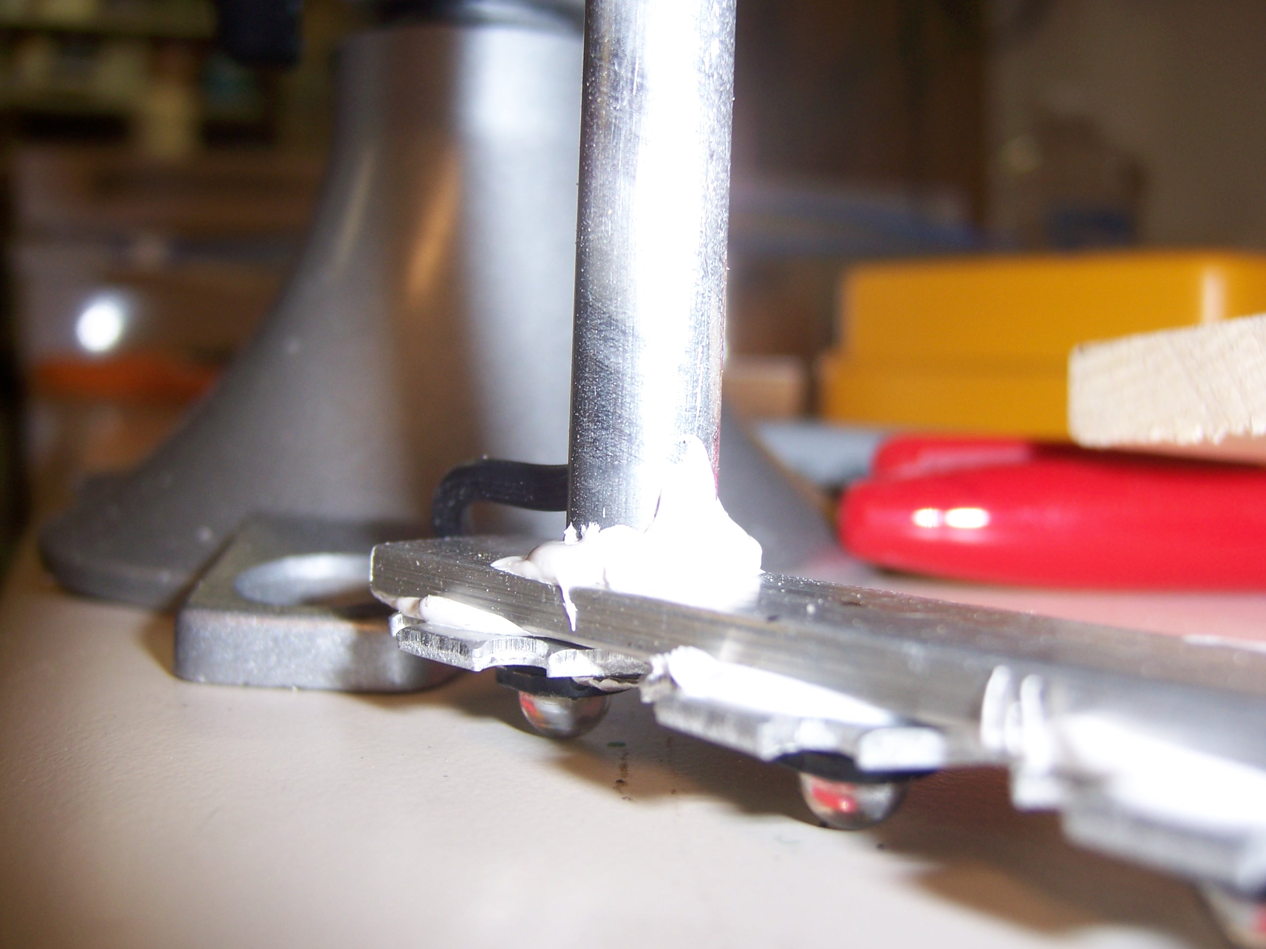 Picture of Drill and Glue the Tubes