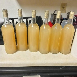 Home Made Apple Core Wine