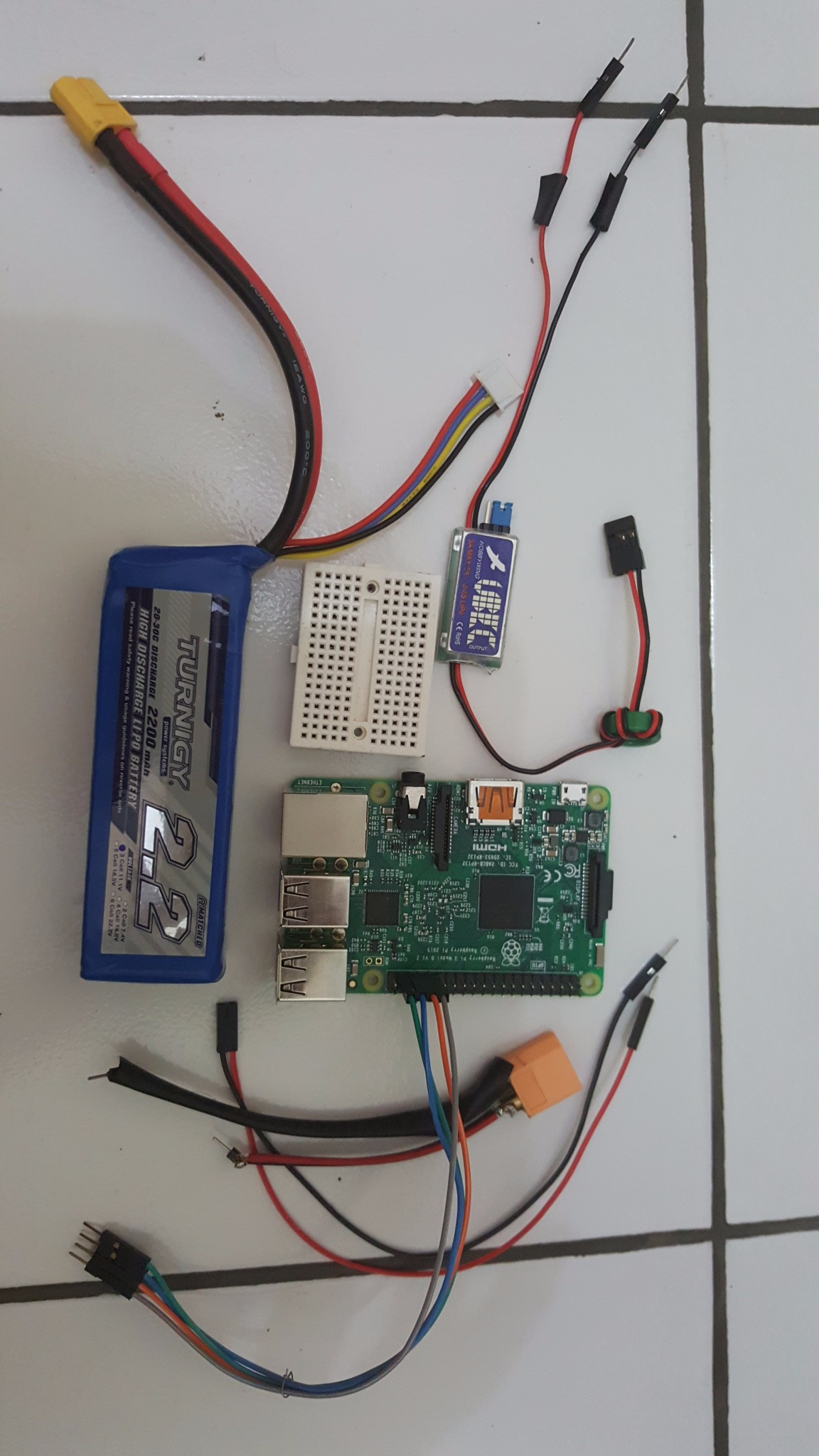 Picture of Powering Raspberry Pi With Lipoly Battery and BEC