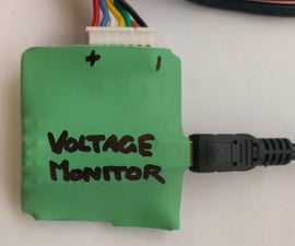 1S-6S Battery Voltage Monitor (ROS)