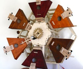The Hexachord, a Rotary Musical Instrument