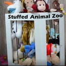 DIY Stuffed Animal Zoo Cage - Organizer