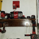 Milwaukee tools cordless station
