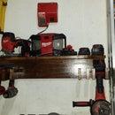 Milwaukee tools cordless station