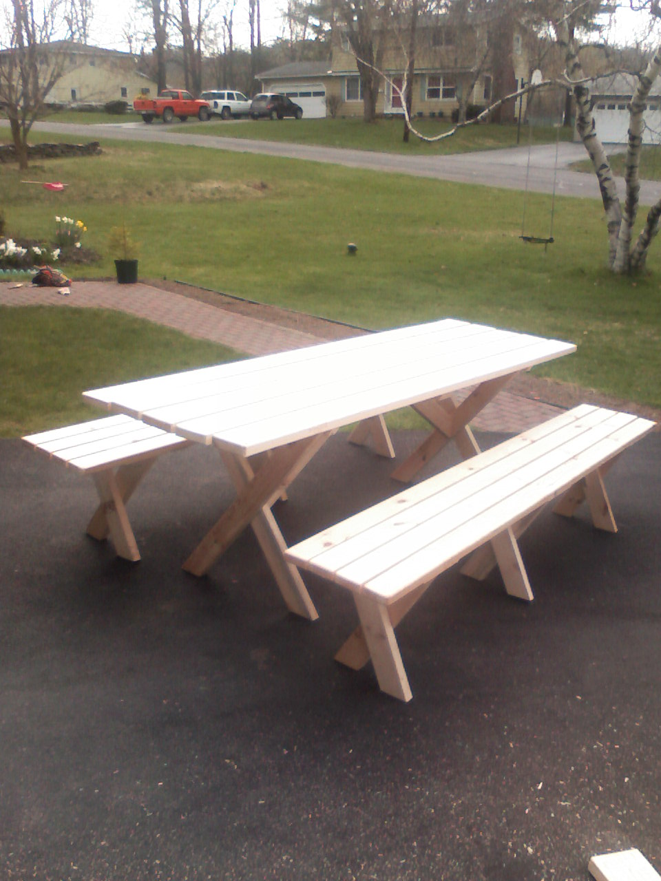 Picture of Picnic Table With Detached Benches