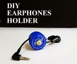 DIY - Earphones Holder