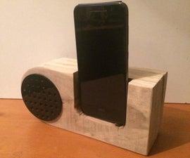 DIY Pallet Mono Speaker