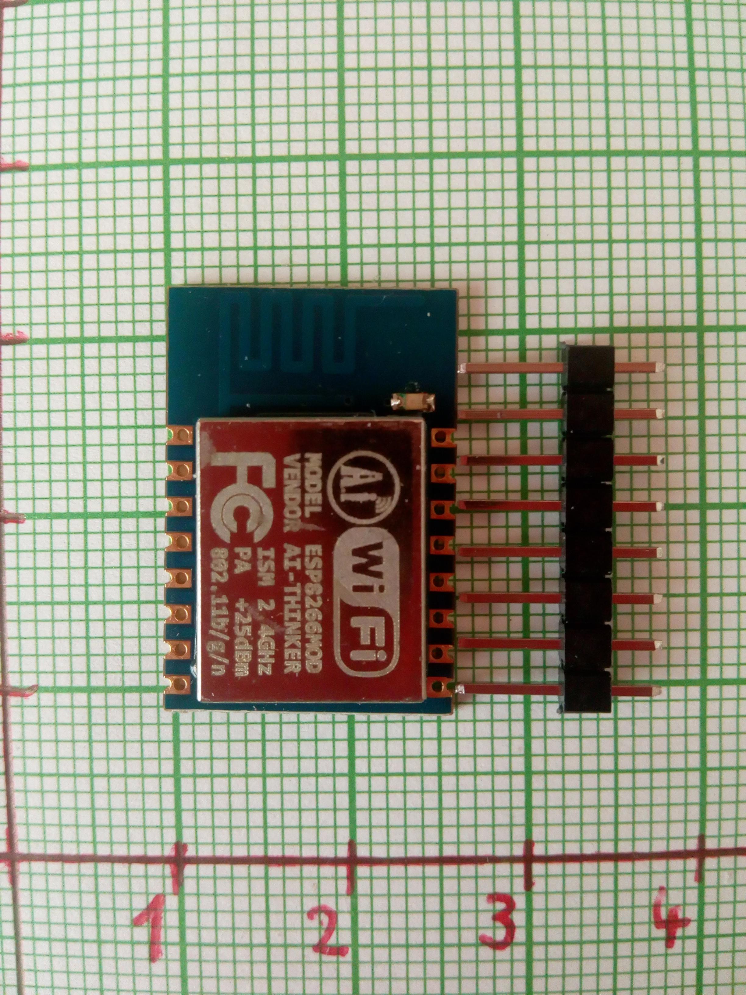 Picture of ESP8266 - 12 Logger