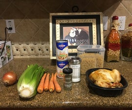 How to Cook Chicken Noodle Soup #HMS2018