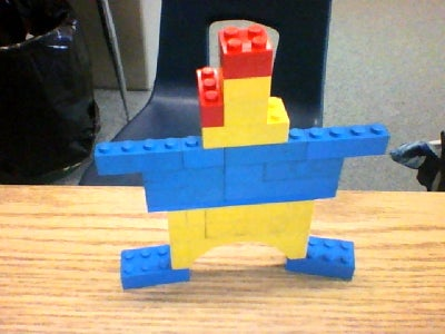 Lego Chicken With Clothes On