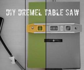 Diy Dremel Table Saw