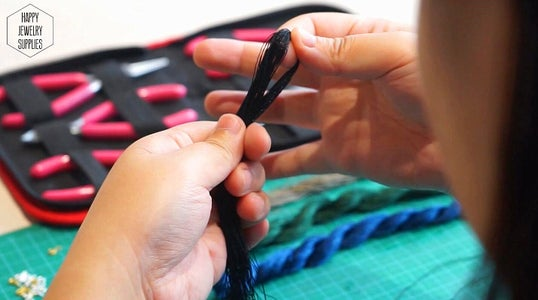 Tassels Making(could Be Done Without Mould)