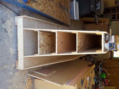 Assemble A-frame & Shelves