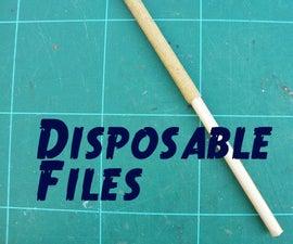 Make Disposable Files