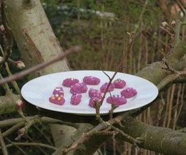 Purple Chocolate Almonds