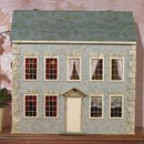 How To Wallpaper The Front of Your Dolls House