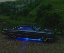USB LED Hotwheels Car