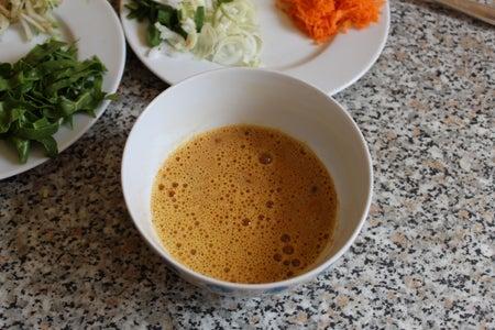 Prepare Egg Mixture