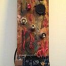 MANOA LOGIC: Morse code wall art with Arduino + found materials