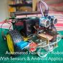 Automated Navigation Robot with Gas (MQ-2), Temperature & Humidity (DHT11) Sensors