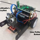 Simple Line Follower Robot