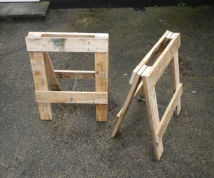 Trestle From Pallets