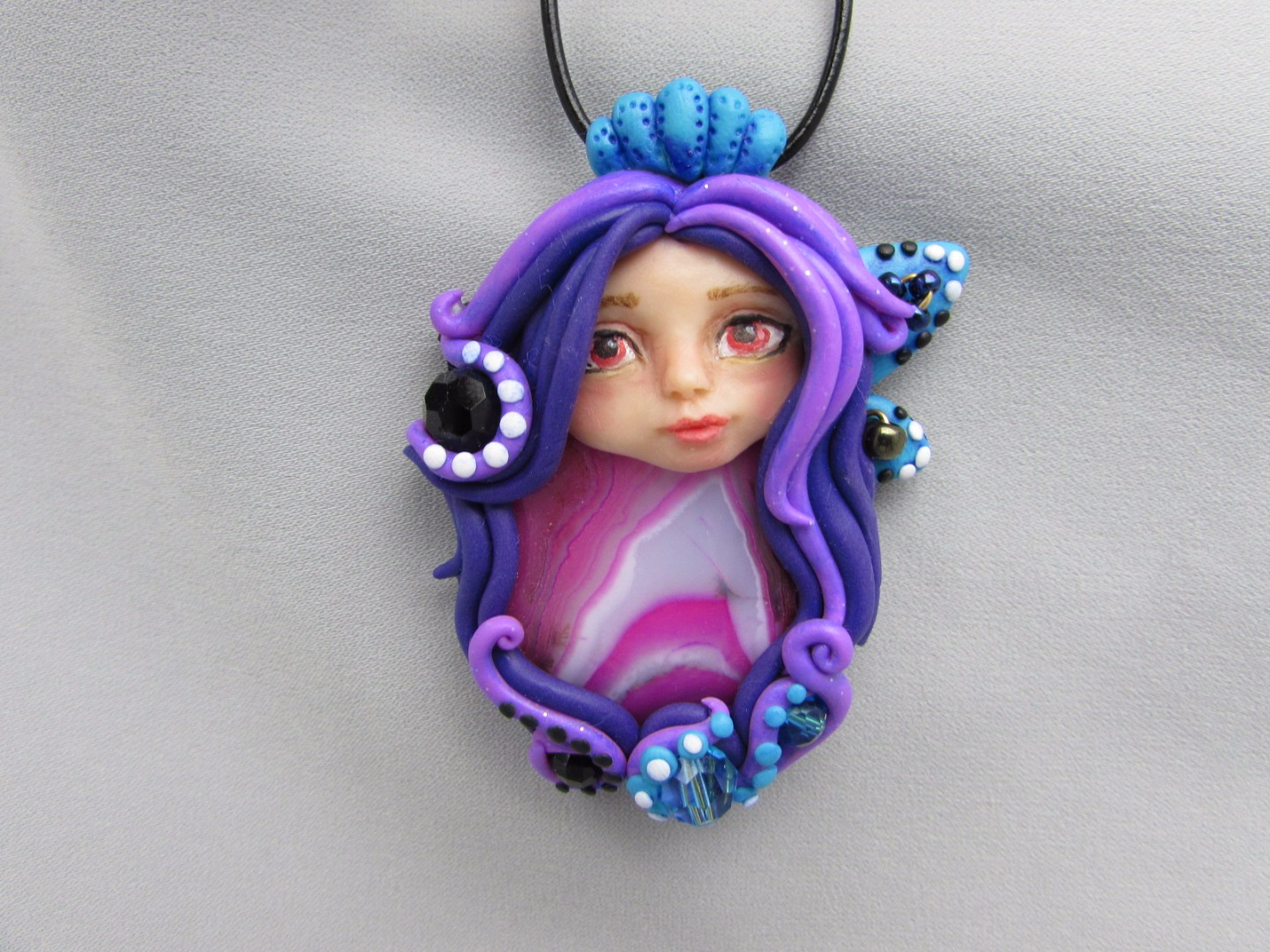 Picture of Fairy Gemstone Pendant Necklace