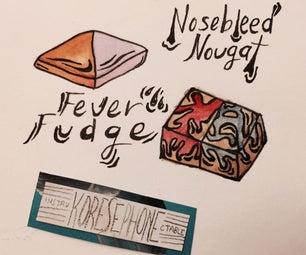 Almost Skiving Snackbox: Simple Nosebleed Nougat & Fever Fudge