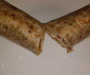 All Day Breakfast Wrap