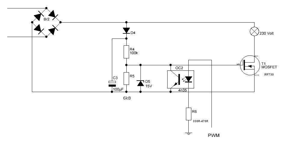 Ac Pwm Dimmer For Arduino With Pictures