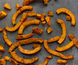 Roasted Pumpkin Fries